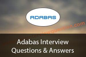 Adabas Interview Questions