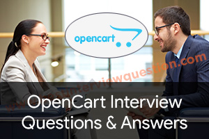 OpenCart Interview Questions
