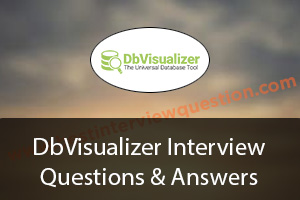 DbVisualizer Interview Questions