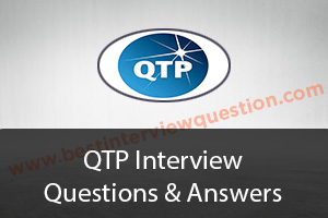QTP Interview Questions