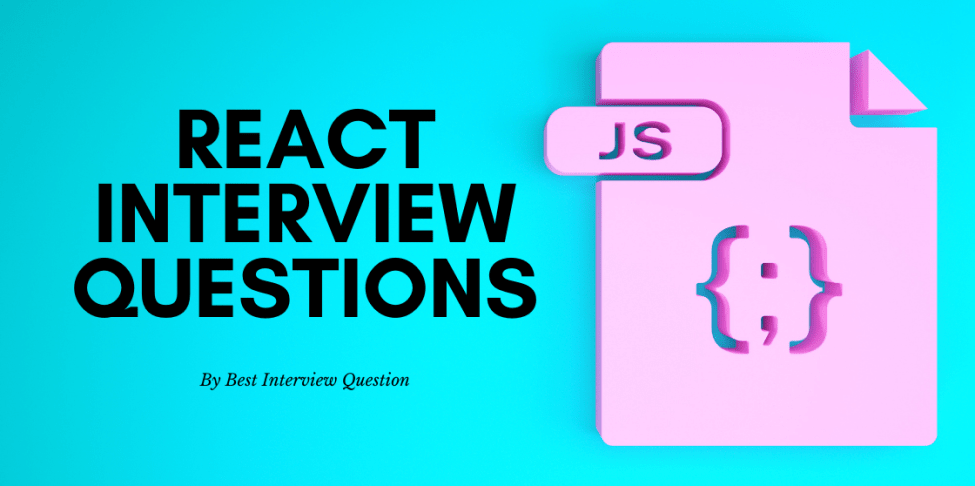 React js interview questions