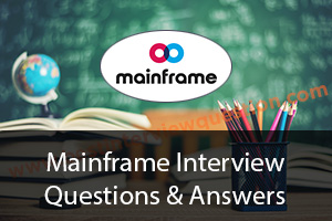Mainframe Interview Questions