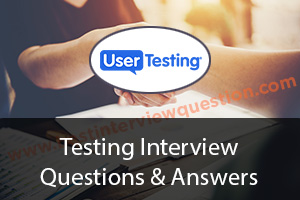 Testing Interview Questions