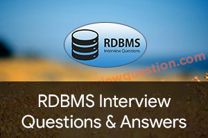 Rdbms Interview Questions