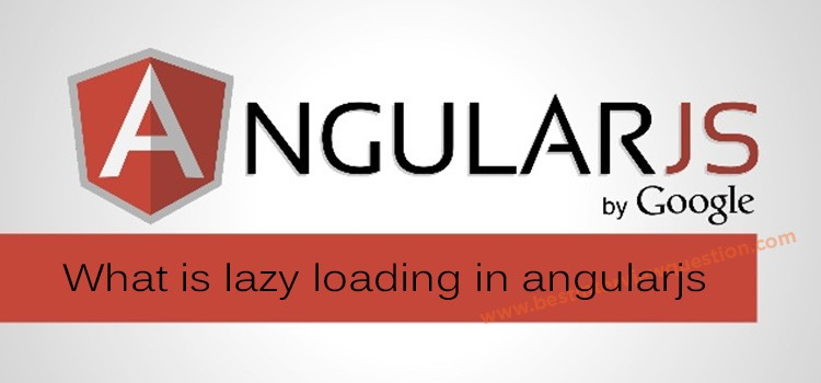 What is lazy loading in angular 2