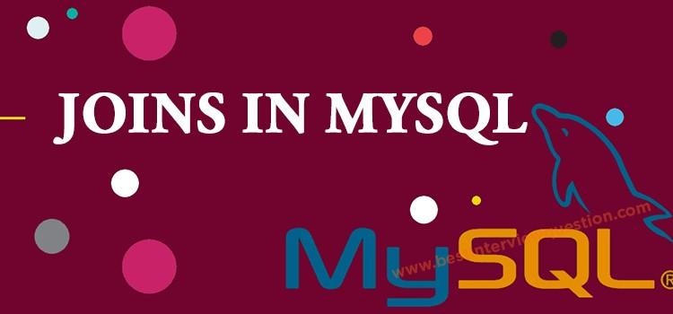 Joins in MySql
