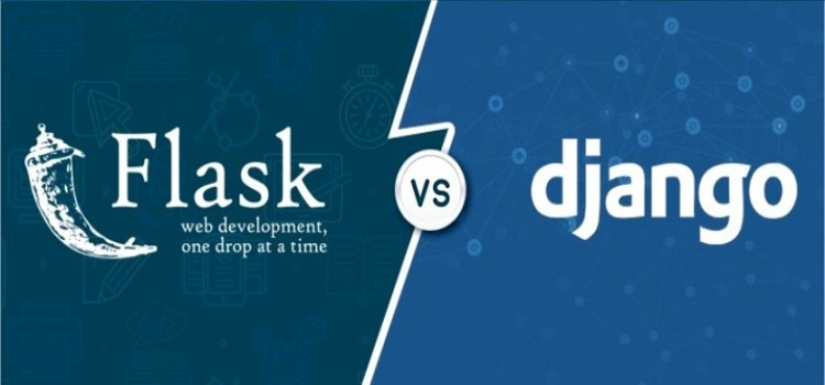 What is the difference between django and flask?