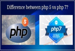 What is the difference between php5 and php7