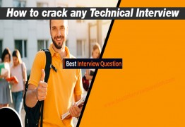How to crack any Technical Interview