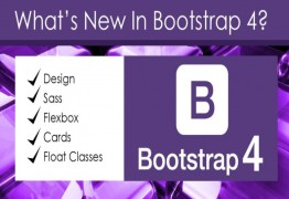 What are the Latest Features in Bootstrap 4