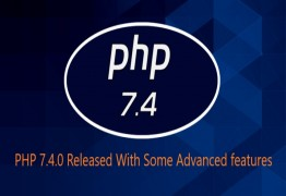 Latest version PHP 7.4 Released with Advanced Features