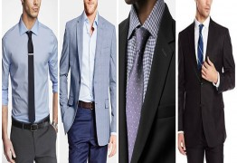 What is the best formal dress for men in an interview