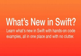 What's new in Swift 5