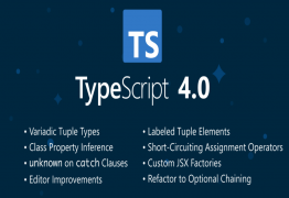 What's New in TypeScript 4.0?