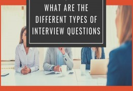 What are the different types of interview questions?